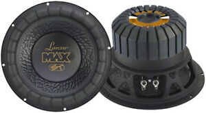 1-New-Lanzar-MAX15D-Max-15-039-039-1200-Watt-Small-Enclosure-Dual-4-Ohm-Subwoofer-Sub