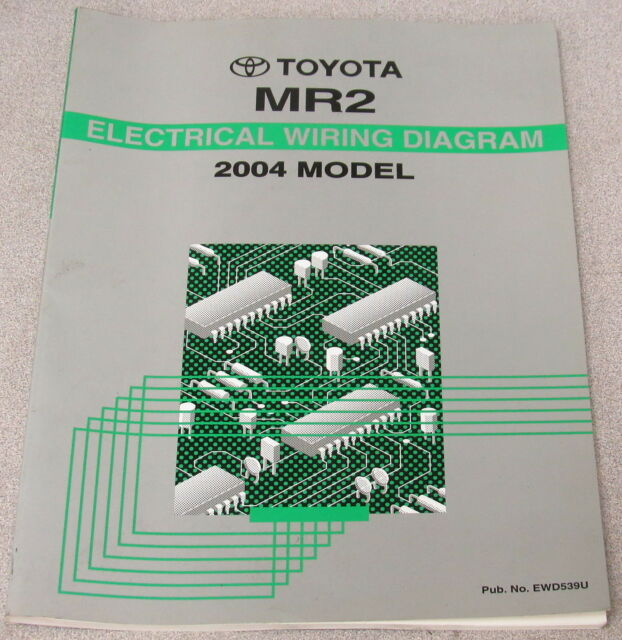 2004 Toyota Mr2 Electrical Wiring Diagram Service Manual