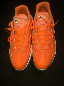 Details about Nike Air Max 95 SE Just Do It JDI Total OrangeWhite AV6246 800 Men's Size 11.5