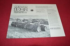 John-Deere-8450-8650-8850-Tractor-Cabeza-Dealer-039-s-Folleto-C-50-Rev-81-8-Lcoh