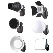 6 in 1 Flash Gun Adapter Kit For Canon 430EX II YN-460 CA-2