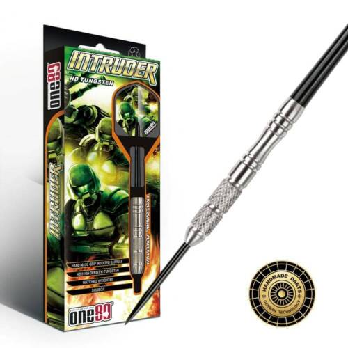Intruder Steeldart 20 22 24 26 Gramm ONE80 Darts Pfeile 80/% Tungsten