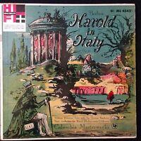 Berlioz Harold in Italy Thomas Beecham William Primrose 6 Eye Masterworks Mono