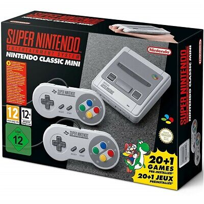 Super Nintendo Entertainment System Super NES Classic Mini Edition SNES new