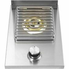 STAINLESS STEEL DROP-IN SINGLE SIDE BURNER (NG) BBQ ISLAND BLOW OUT SALE !!!!!