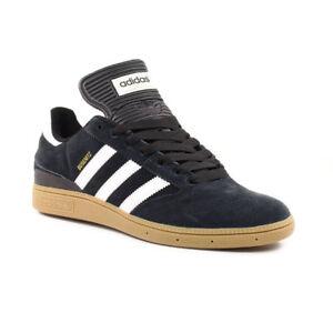 Adidas Busenitz Pro Skate Shoes BlackRunning WhiteMetallic Gold