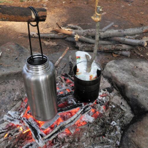 Stainless Steel Fish Mouth Spreader Bottle Hanger Hook Kettle Cookware