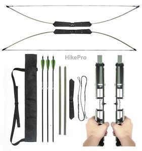 Compact-Break-Take-Down-Survival-Bow-The-Raptor-2in1-45-55lb-Kit-with-arrows