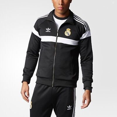 Men's Adidas Tracksuit Real Madrid FC Top & Bottoms