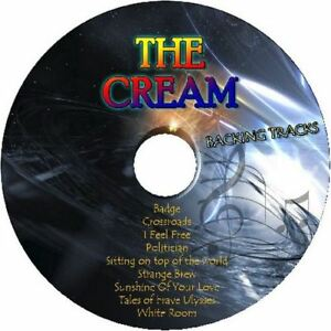 THE-CREAM-GUITAR-BACKING-TRACKS-CD-BEST-GREATEST-HITS-MUSIC-PLAY-ALONG-MP3-ROCK