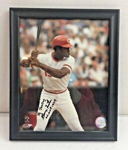George-Foster-Autographed-8X10-Color-Photo-Cincinnati-Reds-NL-MVP-1977