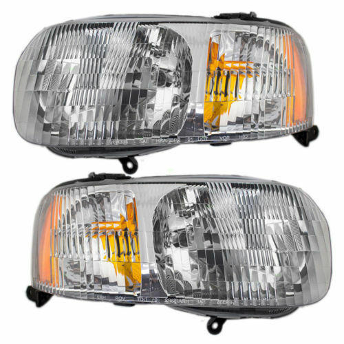 2001 2002 2003 2004 FORD ESCAPE HEAD LAMPS LIGHTS SET RIGHT & LEFT