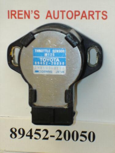 86-91 TOYOTA OEM TPS THROTTLE POSITION SENSOR 89452-20050