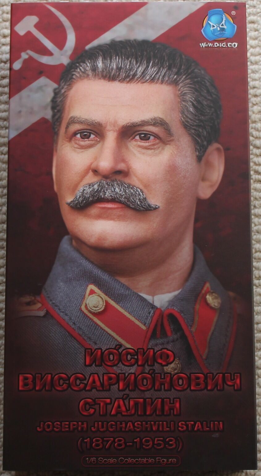 Did action figure ww11 russian stalin 1 6 12'' boxed dragon cyber hot toy