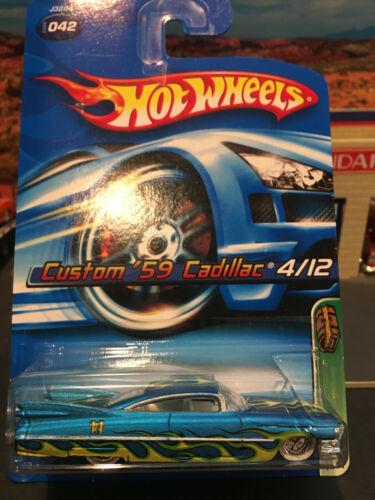Hot Wheels 2006 Treasure Hunt 1959 59 Custom Cadillac #4//12 MOC