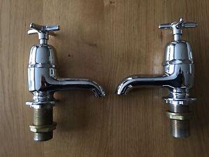 Chrome-Plated-Bath-Taps