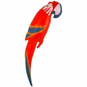 Inflatable-48cm-Blow-Up-Parrot-Tropical-Bird-Animal-Fancy-Dress-Prop-Accessory