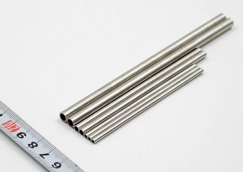 6mm Edelstahl Funktioniert 304 Rohrleitung L 100-600mm Auswahl Od 1mm