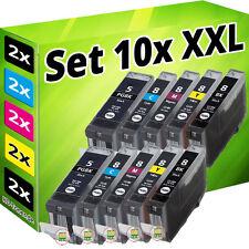 10x PATRONEN CHIP für CANON IP3300 IP3500 IP4200 IP5200R IP4300 IP4500 MP970 SET