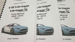ASTON-MARTIN-V8-VANTAGE-amp-S-PARTS-MANUAL-COUPE-ROADSTER-05-15-REPRINTED-A4