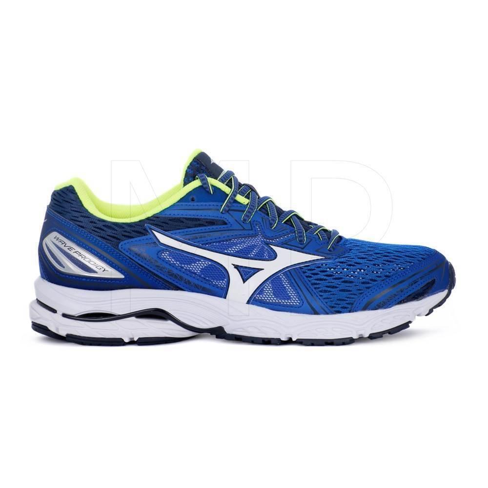 Scarpe da running uomo Mizuno Wave Prodigy J1GC171002 BluBianco mesh