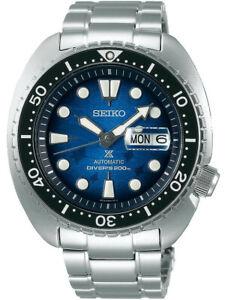 Seiko SE Save the Ocean Manta Ray King Turtle Diver's Men's Watch SRPE39K1