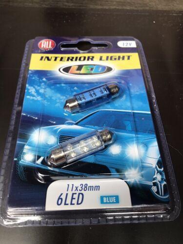 car interior led lights blue