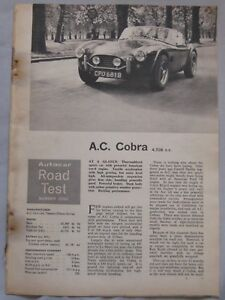 1965-AC-Cobra-Original-Autocar-magazine-Road-test