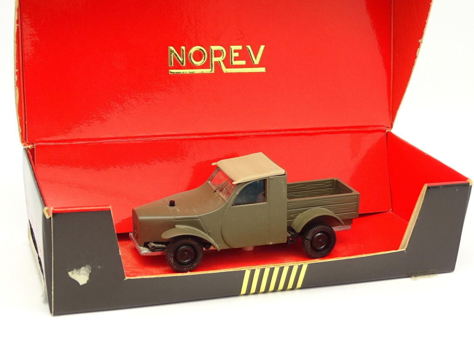Norev 1 43 - citroen 2cv predotype 1936 pick up-black line