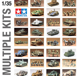 TAMIYA 1/35th MILITARY ARMY WORLD WAR II PLASTIC MODEL KIT LARGE SIZE