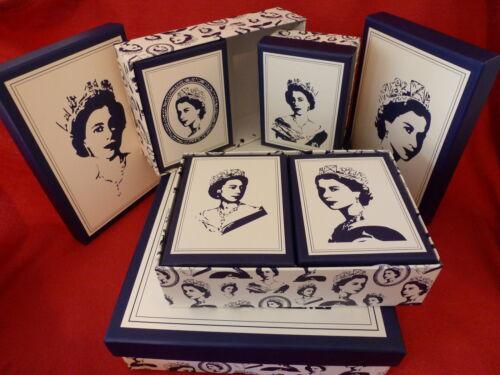 Queen elizabeth ll set 7 boîtes de rangement souvenir//mémoire 90th fête d/'anniversaire 2016