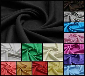 Plain-100-Cotton-Interlock-Double-Jersey-Fabric-158cm-Wide-Per-meter