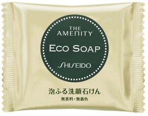 Shiseido-The-Amenity-ECO-SOAP-Face-Cleansing-Soap-18g-NEW-Free-Shipping