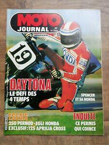Moto Journal Nº 546 / 4 Mars 1982