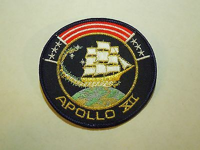 2019 New Style Nasa Apollo 12 1969 Manned Space Mission Astronauts Embroidered Iron On Patch