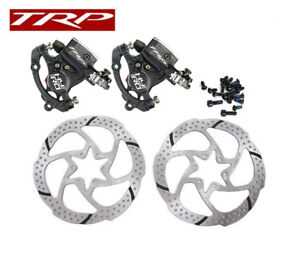 TRP-HY-RD-Post-Mount-Cable-Actuated-Hydraulic-Disc-Brake-Caliper-w-or-w-o-Rotor