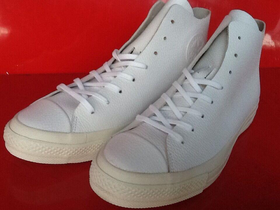 Converse Chuck Taylor Star Prime Hi Leather 154837C Size 11 Men's Or 13 Women's