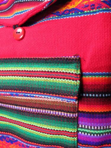 Umhängetasche Studententasche Ethnomuster bunt Rot Schultertasche Tasche NEU