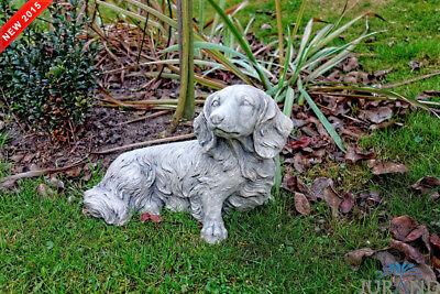 ZuverläSsig Steinfigur Tier Hund Skulptur Garten Figuren Steinfiguren Skulpturen Frostfrei