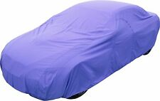 Soft Indoor polivinílico-algodón transpirable ligero Mercedes Car Cover-azul talla-B