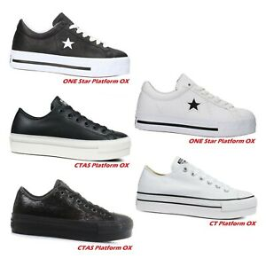 converse all star donna zeppa
