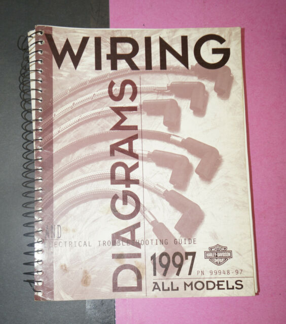 1997 Harley Davidson All Models OEM Wiring Shop Diagrams ...