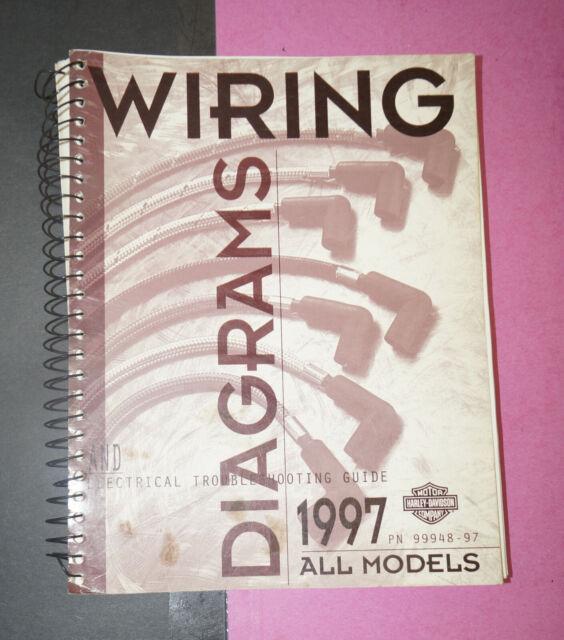 1997 Harley Davidson All Models Oem Wiring Shop Diagrams