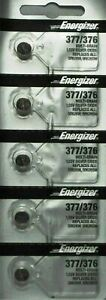 5-x-FRESH-Energizer-377-376-WATCH-BATTERY-SR626SW-SR626W-Silver-Oxide-Battery