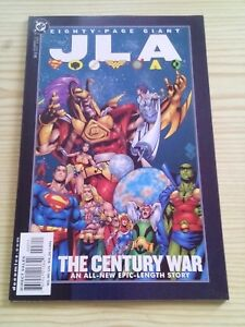 Justice-League-America-JLA-80-Page-Giant-Num-3-The-Century-War-II-Ingles
