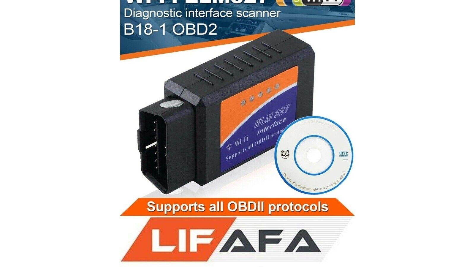 ELM327 WiFi OBD2 Diagnostic