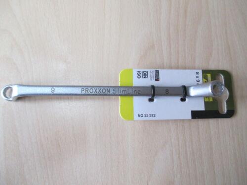 cliquet 8x9 mm /& 10x11mm Slimline Proxxon double cliquet