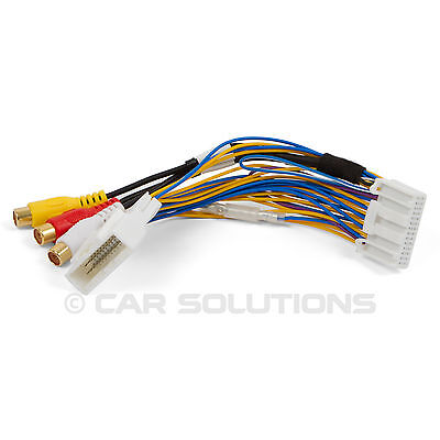 AV Video Audio Cable for Toyota Touch 2 and Entune OEM Monitors Head Units