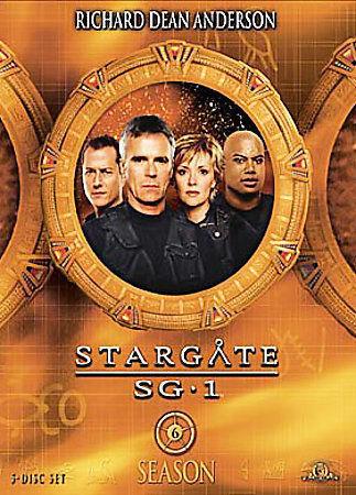 1 of 1 - Stargate SG-1 : Season 6 (DVD, 2005, 6-Disc Set)*R4*Terrific Condition