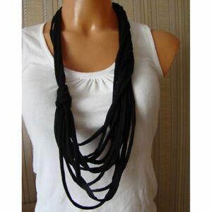 Handmade-Black-Boho-Hippy-Alternative-Womens-Necklace-Crafted-Birthday-Gift-Her